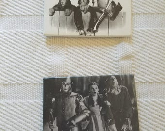 Wizard of Oz Filmclips (2) magnets