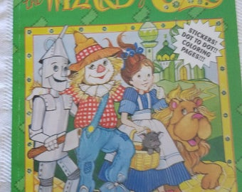 Wizard of Oz Sticker and coloring pages