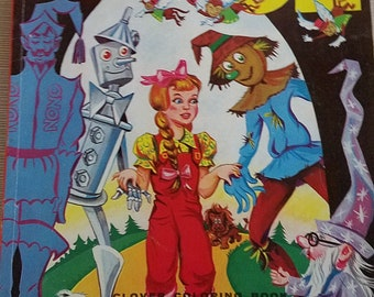 Vintage Wizard of Oz Color by Number
