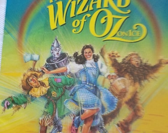 The Wizard of Oz on Ice Souvenir Program