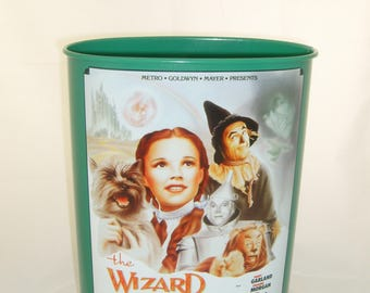 Wizard of Oz Trash Can - Used
