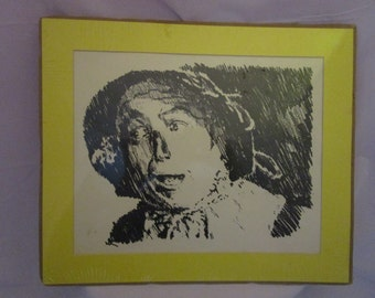 Scarecrow Charcoal Print