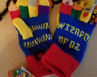 Wizard of Oz Story Gloves
