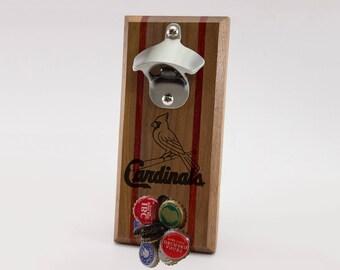 St. Louis Cardinals Magnetic Bottle Opener
