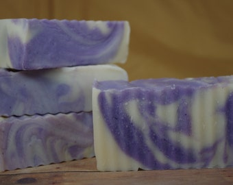 Lavender, Calming, All Natural, Cold Process Soap