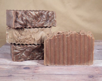 Dark Chocolate Delight, All Natural, Cold Process Soap