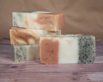 Cucumber Melon,All Natural,  Cold Process Soap