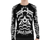 B.A.M.F Long Sleeve Men's Tat Shirt