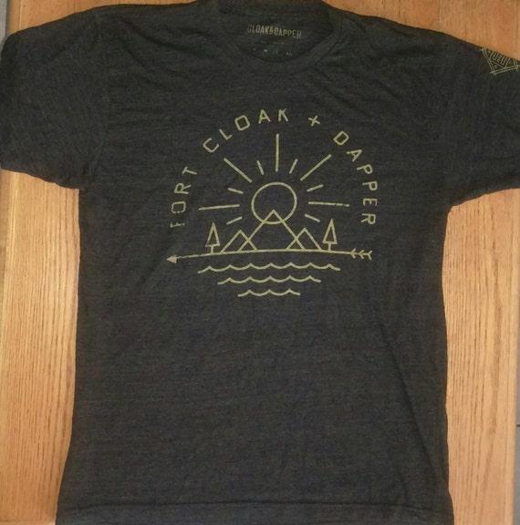 """Cloak and Dapper """"Fort Cloak and Dapper"""" T-Shirt … - image 1"""