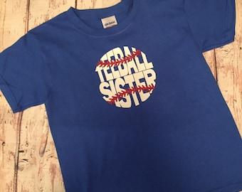 TeeBall Sister T-Shirt