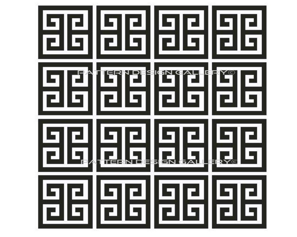 Greek Key Graph Chart Afghan Crochet Pattern Graphgan Pdf Instant Download Stitch Diagram Patterns Diagrams