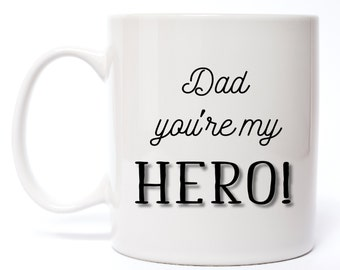 Youre My Hero Mug Etsy