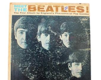 The Beatles - Meet The Beatles - Vinyl Album