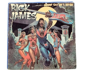Rick James - Bustin Out Of L Seven - Vinyl Album
