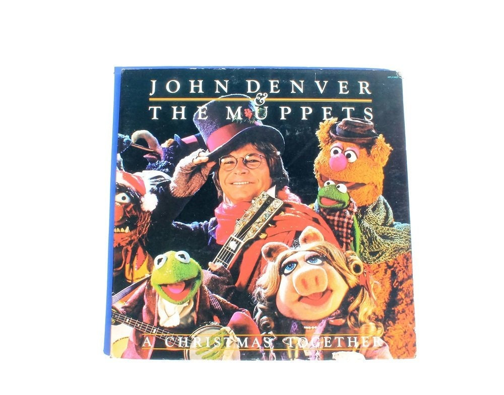 John Denver and The Muppets A Christmas Together Vinyl | Etsy