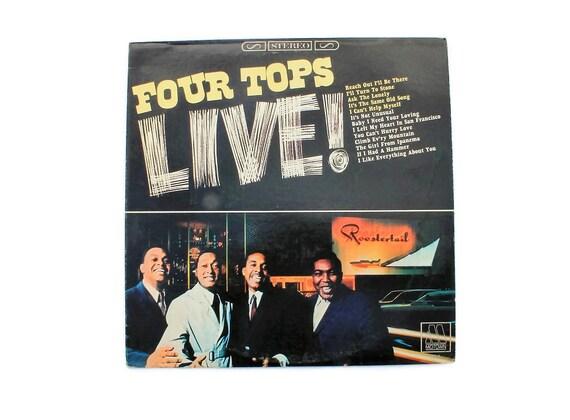 Four Tops - Live - Vinyl Album