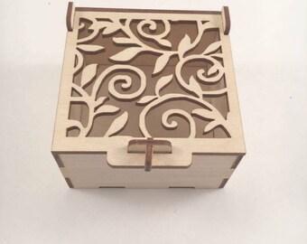 Small Wood Box Etsy