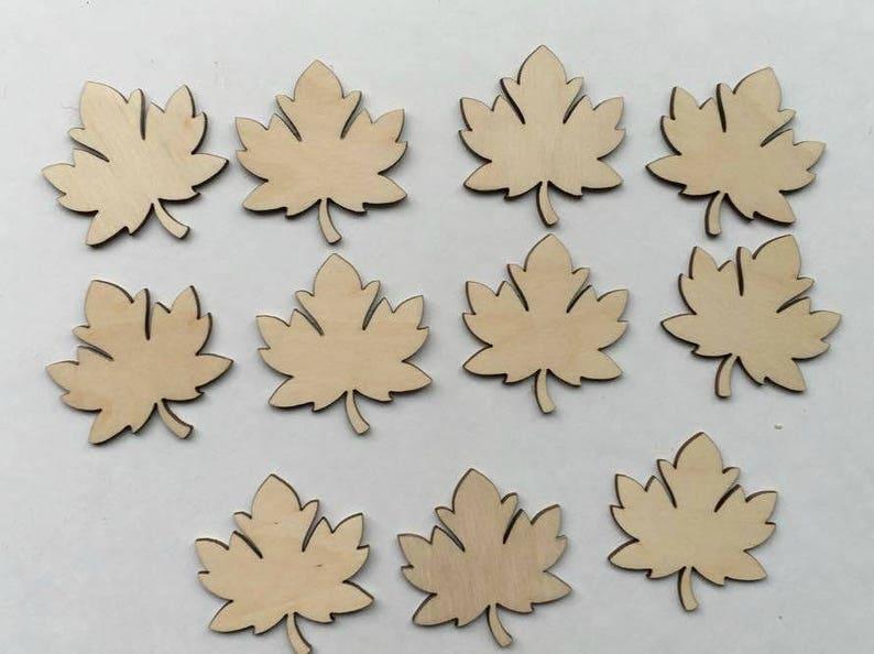 Wood Leaf Cutouts Fall Cutouts Wooden Leaf Blanks Wooden Cutouts Wooden Blanks Fall Leaf Cutouts Wooden Blanks Wood Leaf Lot