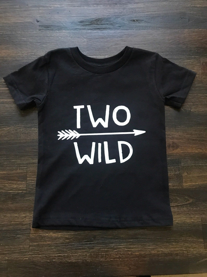 Two Wild Shirt Birthday 2nd Toddler