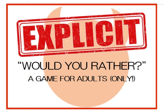 graphic relating to Would You Rather Cards Printable called Express \