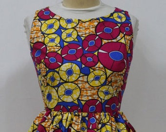 Dashiki ankara wax African print top