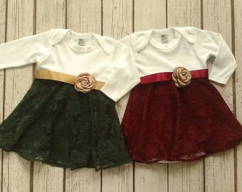 more colors baby christmas dress