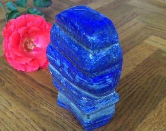 AAA Grade Lapis Lazuli Stone Freeform Slab
