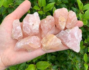 Bulk Rose Quartz Crystal Craft Cut Slabs 2-4 Inch 4 Pieces   Etsy