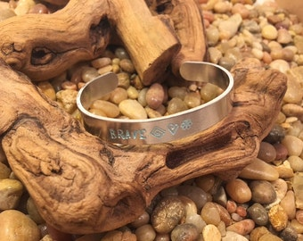 Stamped Bracelets (free shipping)