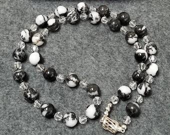 Black, Gray Necklaces