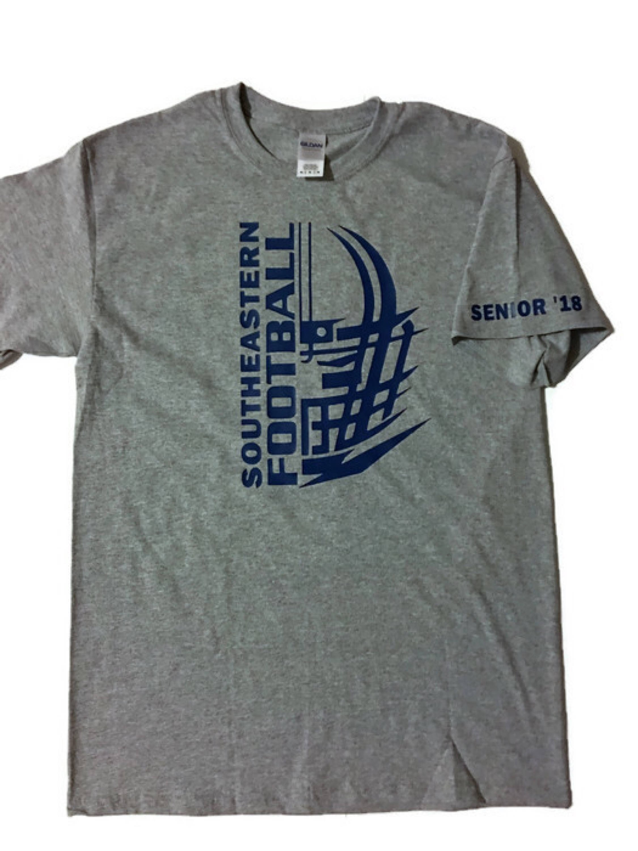 7ee42555 Custom football t-shirt / personalized name shirt / | Etsy