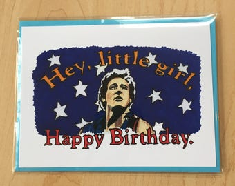 Bruce Springsteen Birthday Card