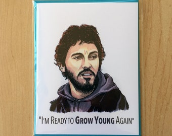 Bruce Springsteen No Surrender birthday card