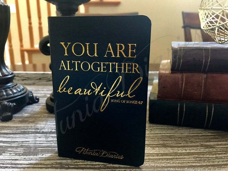 You Are Journal // Small Journal // Encouragement // Scripture image 0