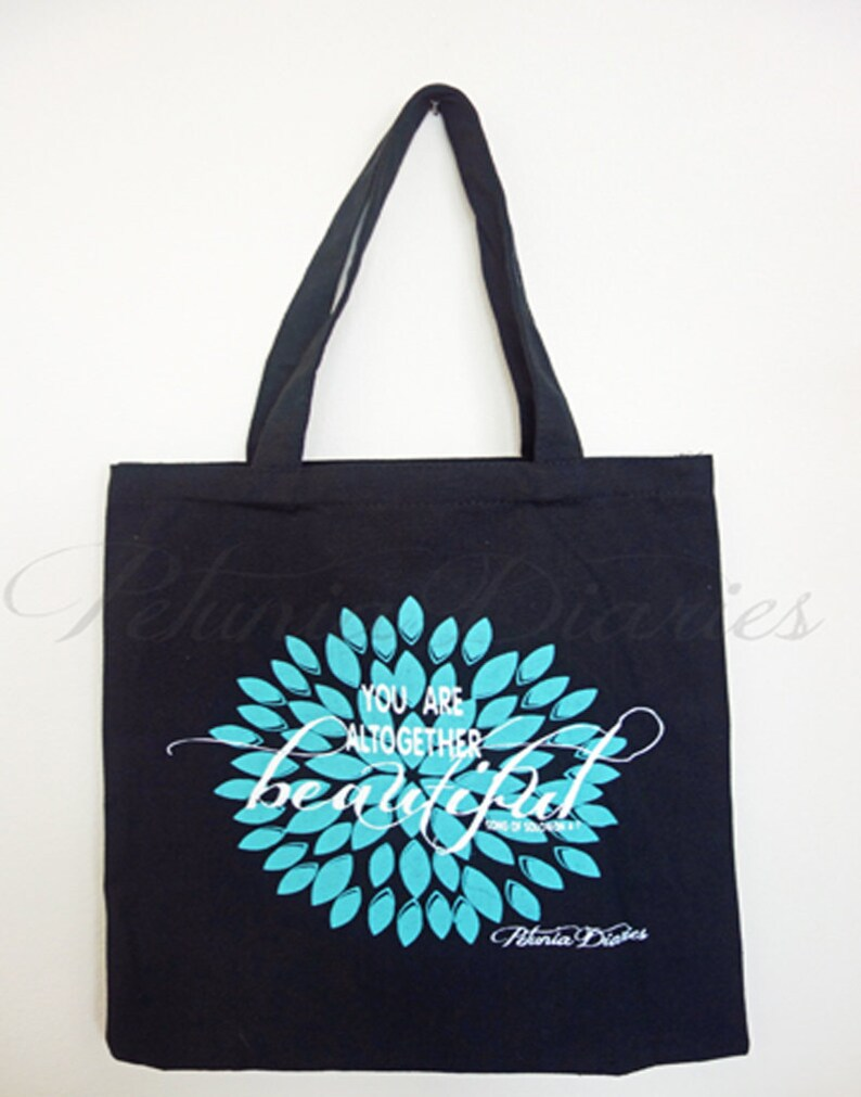 You Are Tote // Shopper  Tote Bag  Encouraging Message  You image 0