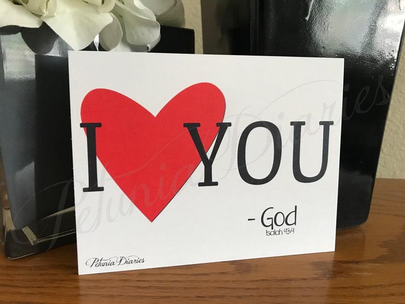 I Love You Set // Valentine's Day cards // notecards // image 0
