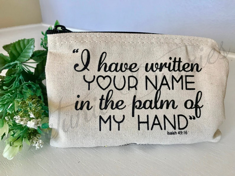 Written Your Name Pencil Bag // Pencil bag // makeup bag // image 0