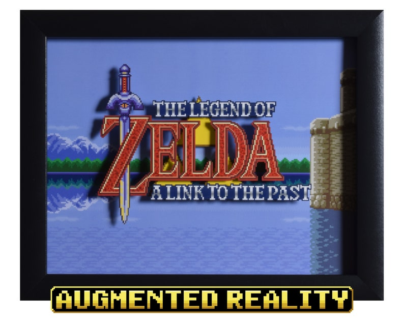 Legend of Zelda Shadowbox  Title Screen  SNES  Super image 0