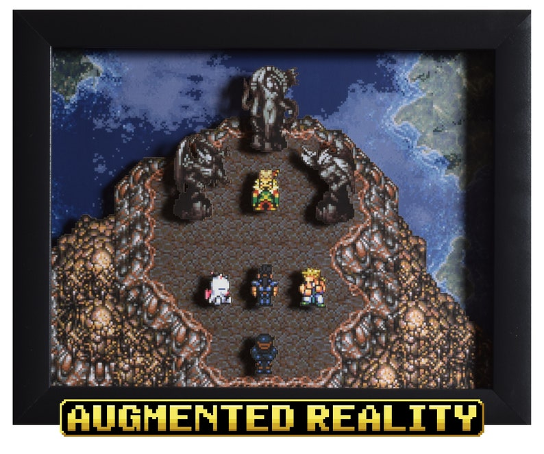Final Fantasy III VI  Shadow Box  Floating Continent  SNES image 0