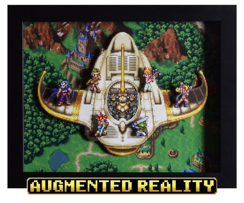 Chrono Trigger Shadow Box  The Epoch  SNES  Shadow Box  3D image 0
