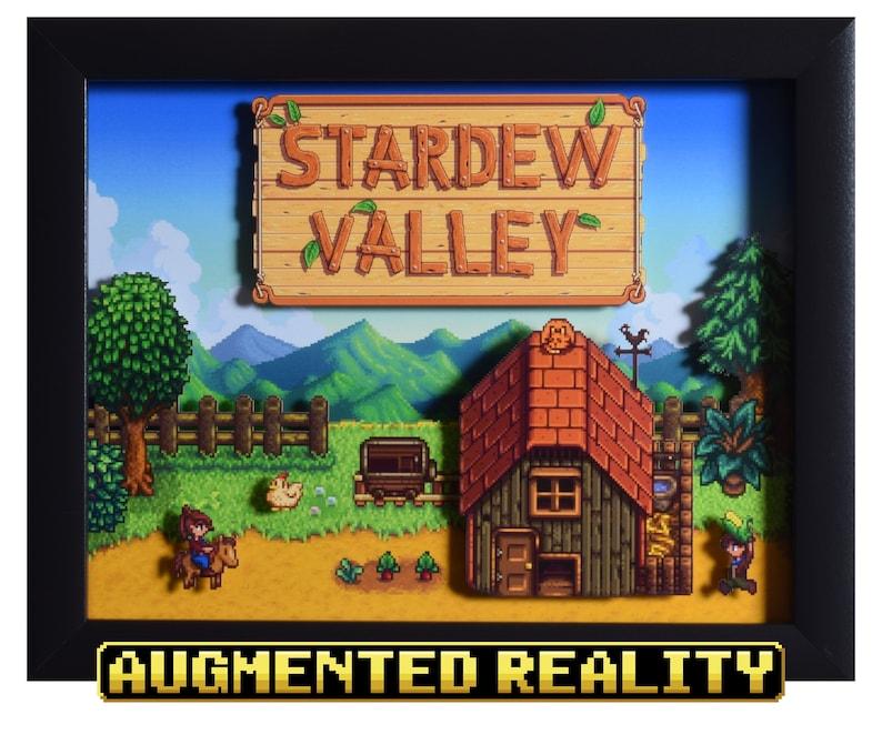 Stardew Valley Shadow Box  The Farm  PC   3D Shadow Box image 0