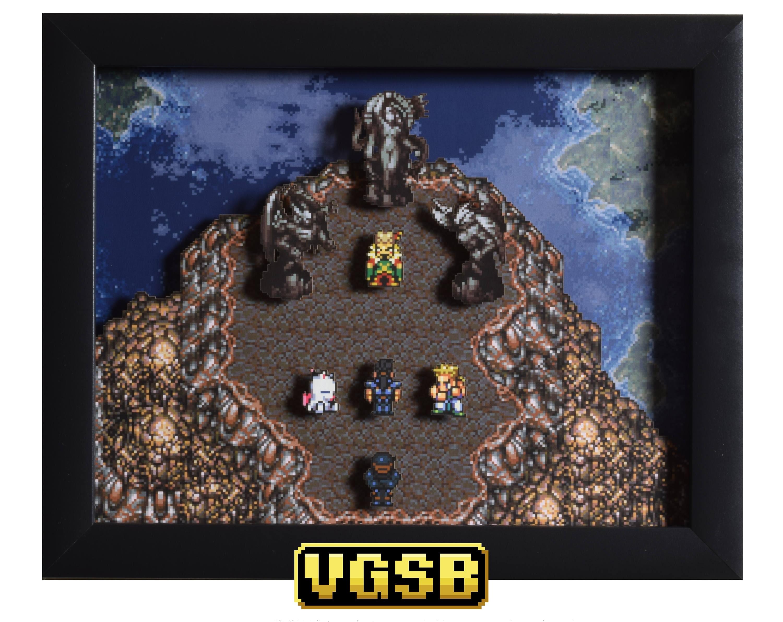 Final Fantasy III Final Fantasy VI Shadow Box schwimmende | Etsy