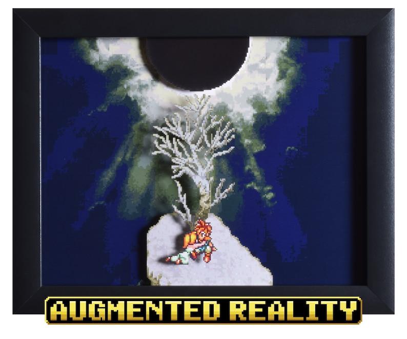 Chrono Trigger Shadowbox  Death Peak  SNES  Super Nintendo image 0