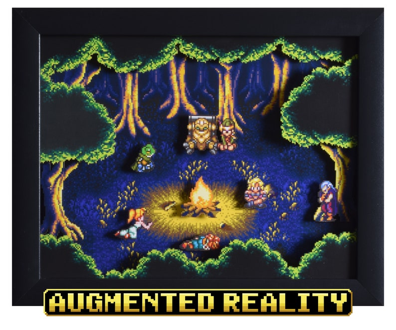 Fiona's Forest Shadow Box from Chrono Trigger on the SNES image 0