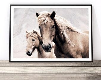Horse Art, Southwestern Decor, Boho Wall Art, Horse Wall Art, Bohemian  Decor, Horse Print, Horse Photography, Horse Decor, Wild Horse