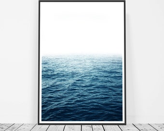 Ocean Print, Photography, Art Print, Ocean Photography Print, Large Wall Art, Ocean Wall Art, Blue Wave Print, Water Print, Ocean Art Print