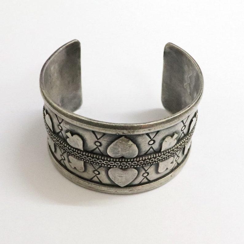 Wedding Gift,Ethnic Vintage Look Handmade Old Silver Jewelry Tribal Bangle Jewelry Traditional Ethnic Vintage Bangle Jewelry Gift Her
