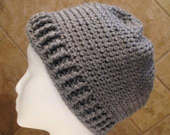 Sloppy Bun Beanie Hat