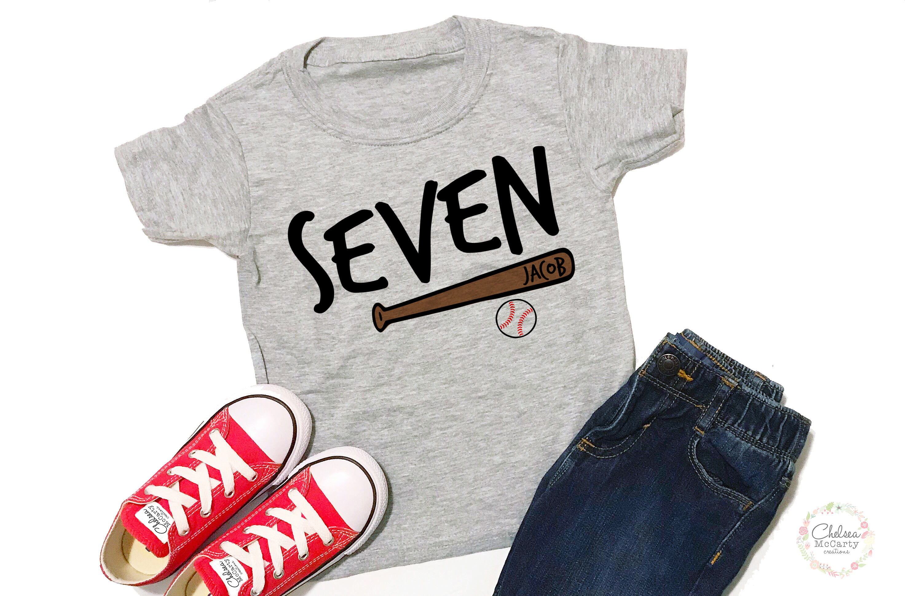Personalized 7th Birthday Shirt 7 Boy