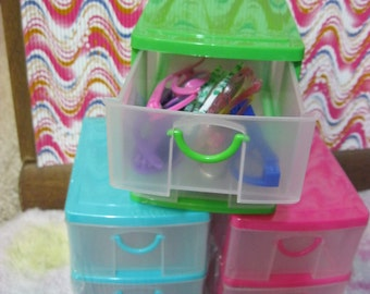 Superieur Stackable Dresser For Your 18 Inch Doll Like American Girl Doll. Storage  Container / 2 Drawers /* 18 Inch Doll Accessories/dresser